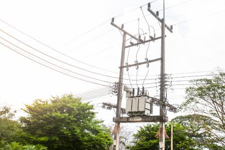 isolators: Electric transformer substation