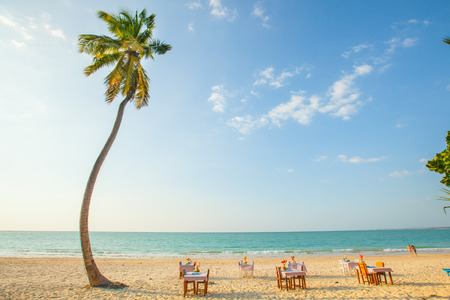 beachfront: Beachfront restaurant   - Seaside restaurant at Phuket island - Thailand