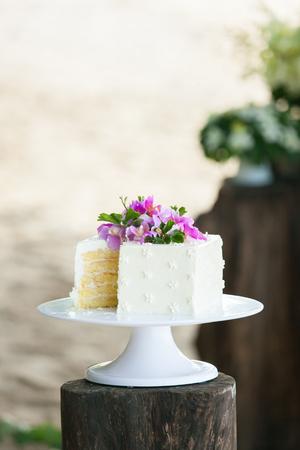 xwhite: cutting the wedding cake