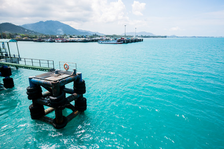 View on the ferry to Koh Samui.