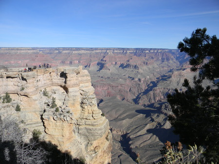hint: Grand Canyon with a Hint of Green