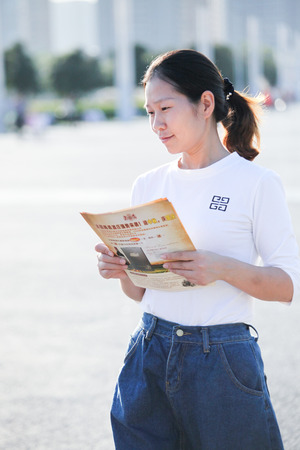 leaflets: Leaflets of female students Editorial