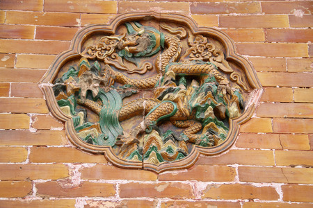 restoring: Wall carvings in ancient China