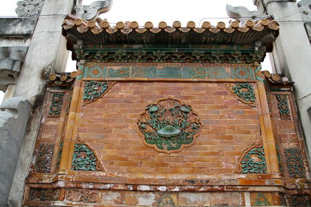 restore ancient ways: Wall carvings in ancient China