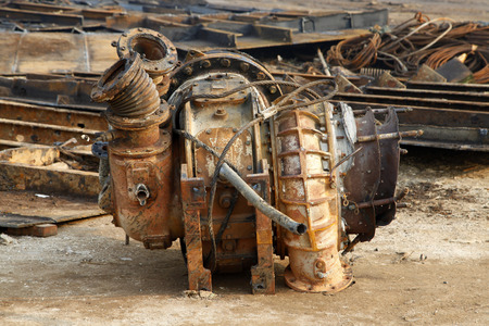 the equipment: Old equipment