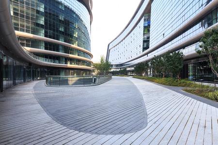 도시의 오피스 빌딩