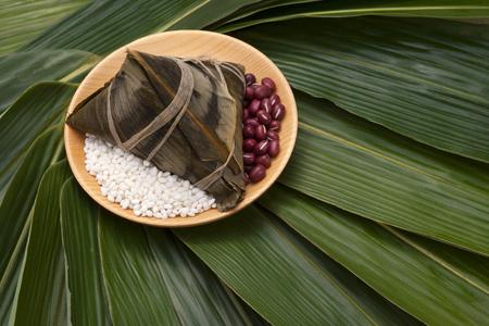 Dragon Boat Festival food, zongzi 스톡 콘텐츠