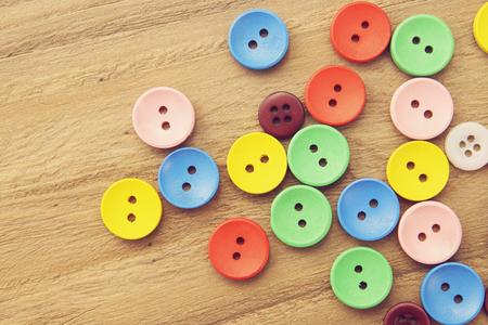 avocation: A stack of buttons