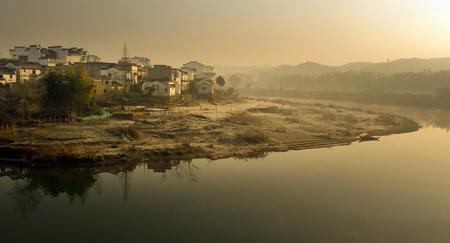 county: Wuyuan County Creek Stock Photo