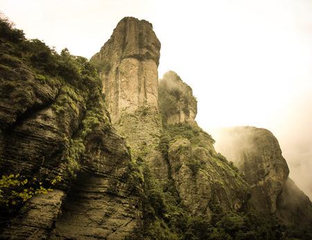 蕩山の風景 写真素材