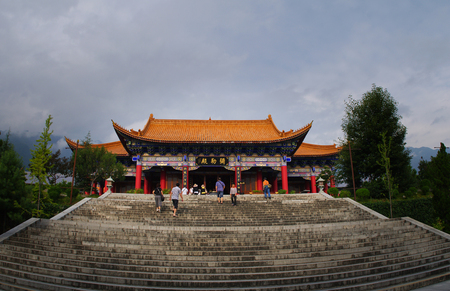 The Chongsheng temple building