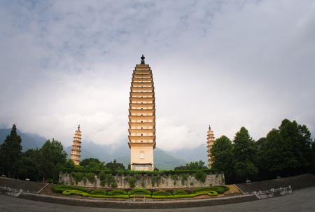 greening: Three Pagodas of Chongsheng Temple