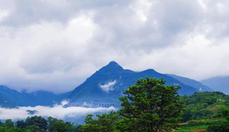 yunnan: The beautiful yunnan mountain scenery Stock Photo