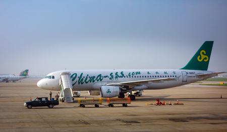 passenger aircraft: Spring Airlines passenger aircraft