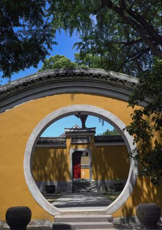 garden gate: Ashoka temple garden gate