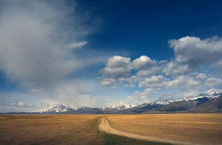 bole: mountain scenery
