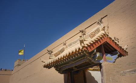 jiayuguan pass: The Ming Dynasty tower Editorial
