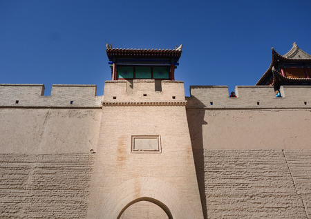 jiayuguan pass: The architecture in ming dynasty