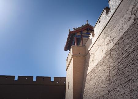 jiayuguan pass tower: Jiayuguan gate tower