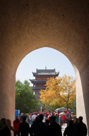 jiayuguan pass tower: Shing Mun Jiayuguan