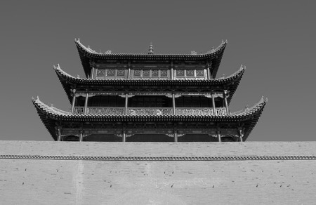 jiayuguan: The ancient city of Jiayuguan Editorial