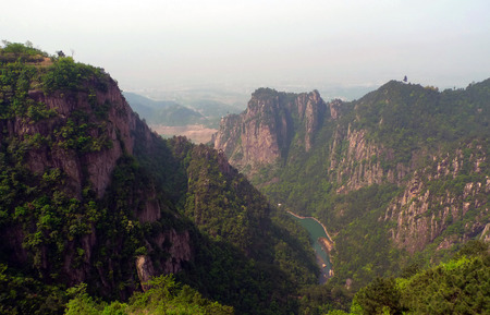 Overlooking the Qiongtai Valley