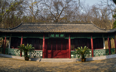 humanistic: Chinese traditional ancient architecture