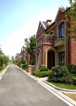 superficie: la zona Villa jiangnan Editorial