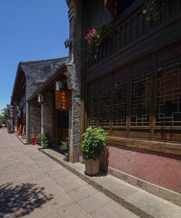 old street: Nantang old street in Ningbo Editorial