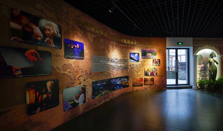 the exhibition hall: Liangzhu Culture Exhibition Hall