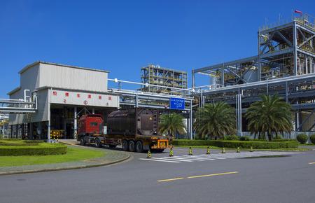 Transportation workshop of chemical plant