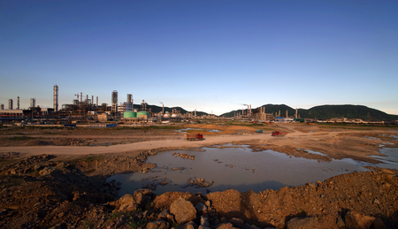 industrial park: Island chemical industrial park site