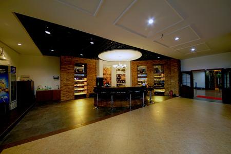 wine trade: Wine bar Editorial