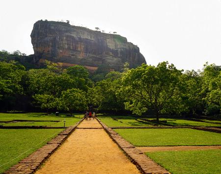 sigiriya: Sigiriya Lion Rock channel Editorial