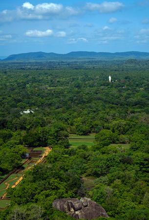 sigiriya: Sigiriya Lion Rock scenery