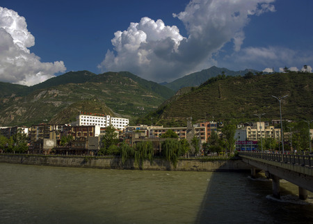 county: Reconstruction of Wenchuan County