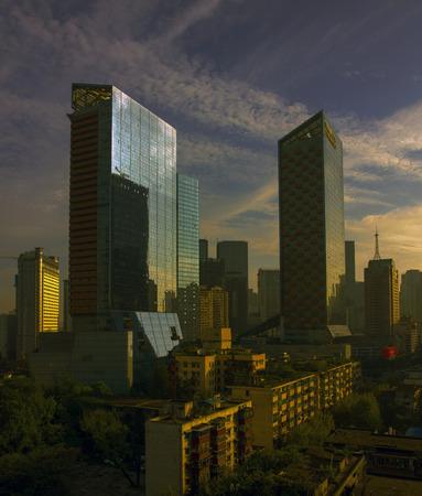 chengdu: high rise buildings in Chengdu