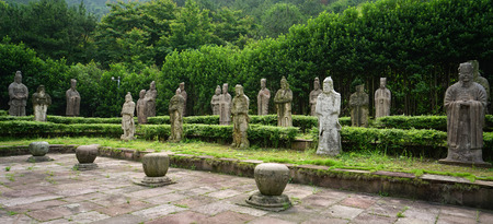 generals: stone statues