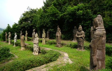 stone statues