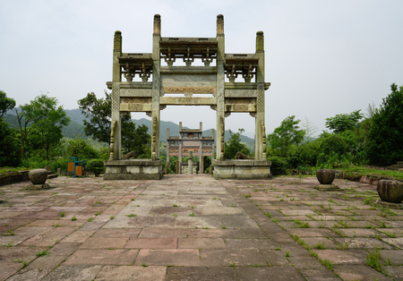 stone arch: stone arch gateway
