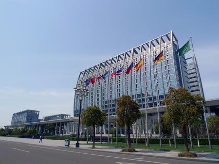district: Beilun district government building