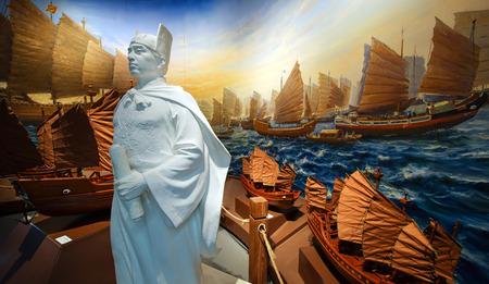 sculpture of Zheng He