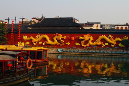 The Qinhuai River scenery