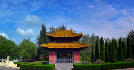 tumbas: The Ming Tombs building