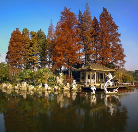 Xuanwu Lake scenery