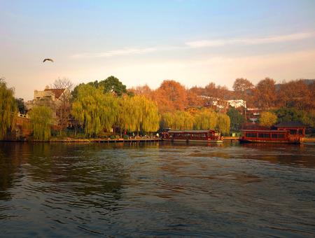 West Lake autumn