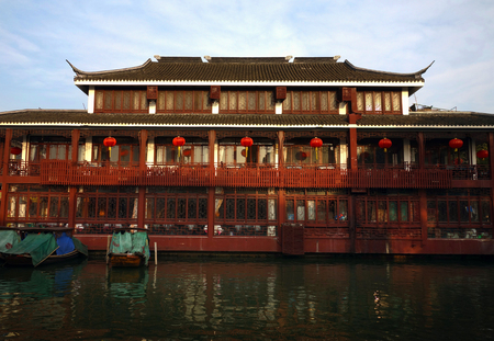 zhouzhuang: Zhouzhuang architecture Editorial
