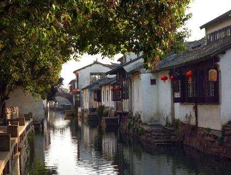zhouzhuang: Zhouzhuang scenery Stock Photo
