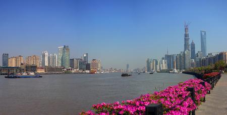 huangpu: Huangpu River scenery
