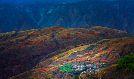 cu: Climb the west mountain village